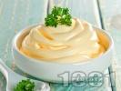 Рецепта Домашна млечна майонеза без яйца